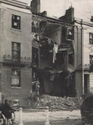 Dormer Place afetr being bombed