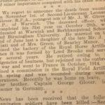 Warwick Advertiser - 3rd November 1917